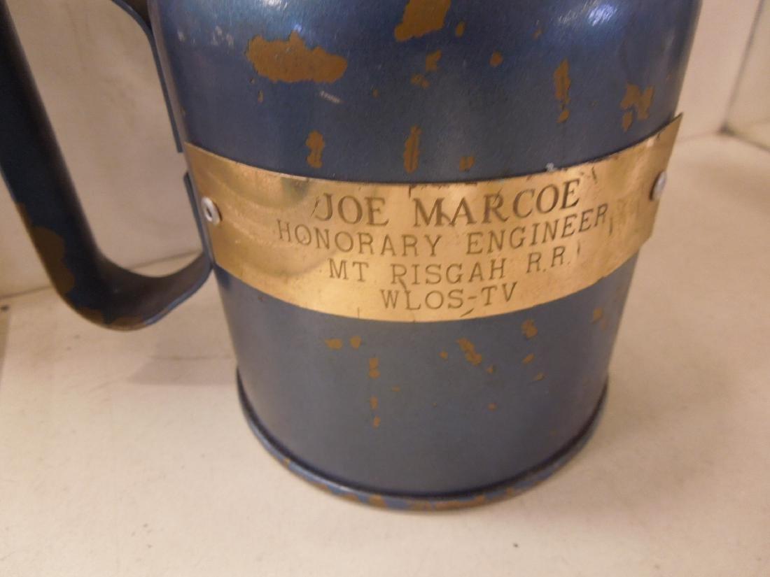 3pcs. Vintage Railroad Torches & Oil Can - 7