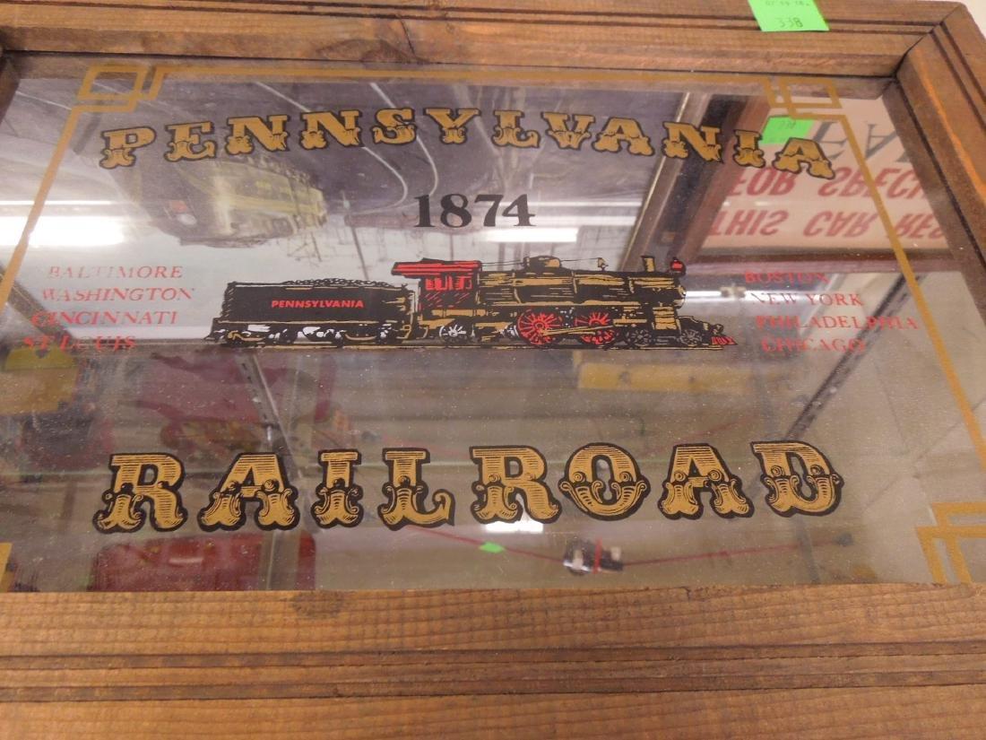 Framed Locomotive Print, Mirror & Other - 4