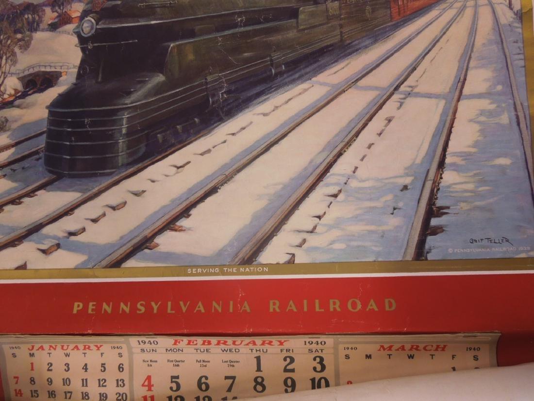 Rolled Map & P.R.R. Calendars - 3