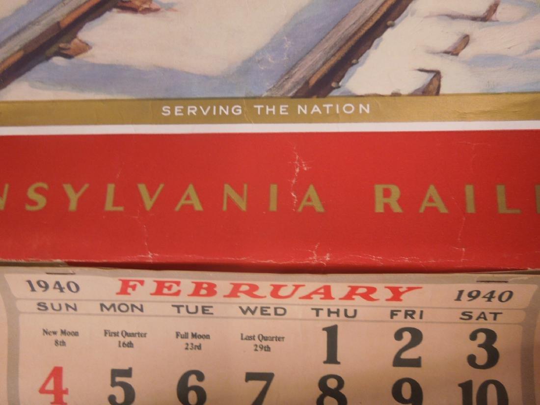 Rolled Map & P.R.R. Calendars - 4