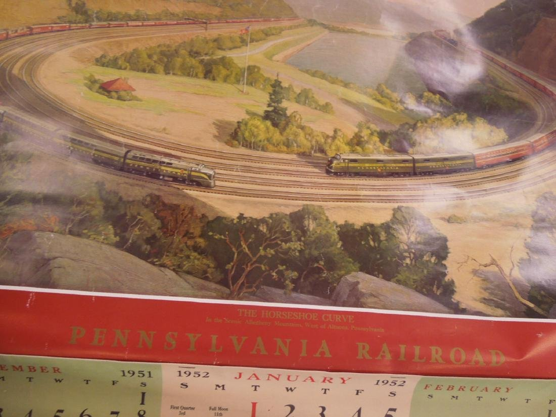 Rolled Map & P.R.R. Calendars - 5