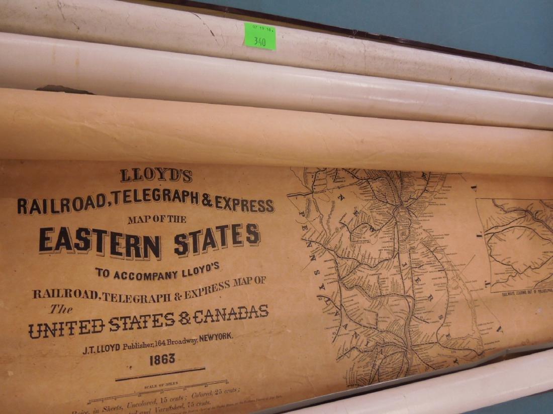 Rolled Map & P.R.R. Calendars - 7