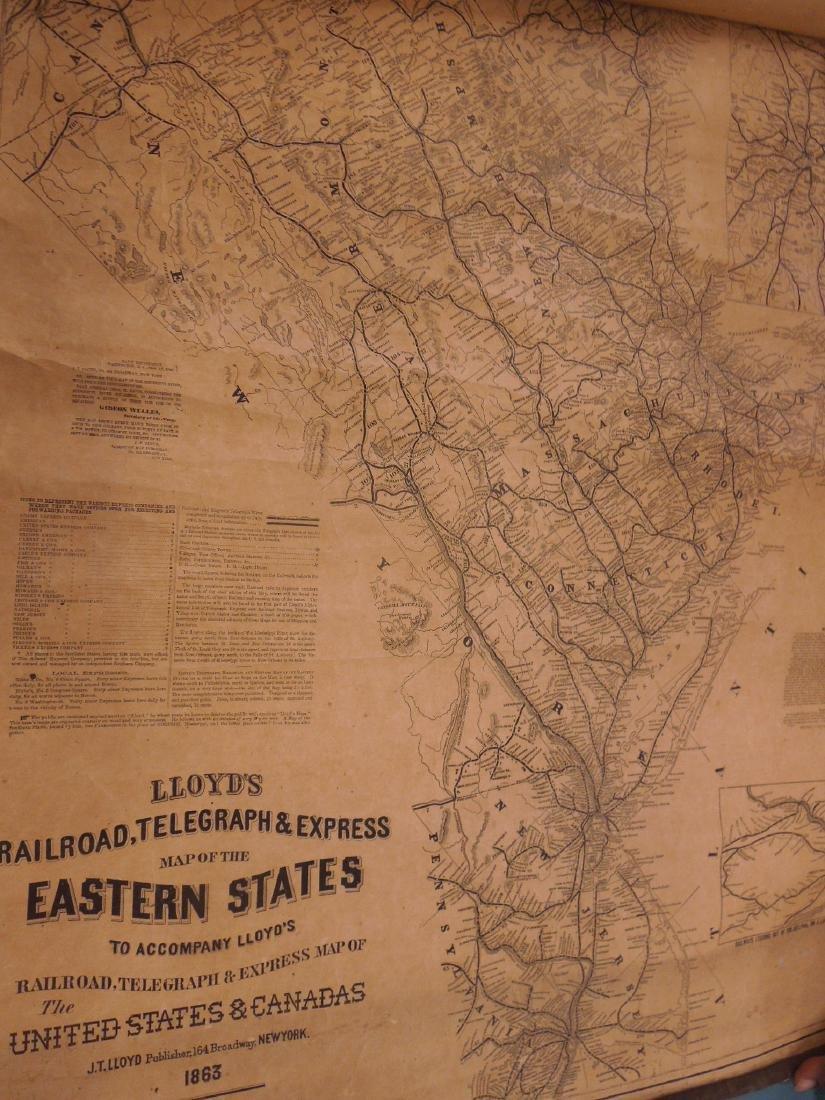 Rolled Map & P.R.R. Calendars - 8