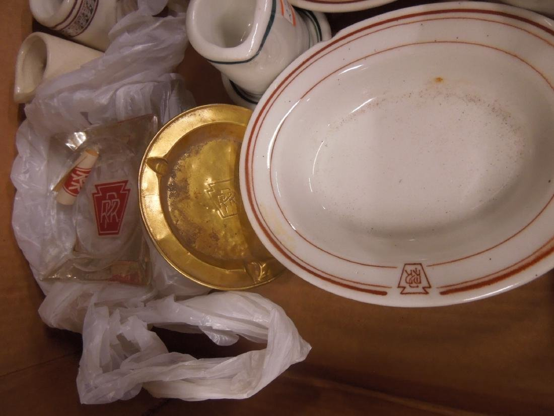 Assorted P R.R. Dining Car Accessories - 3