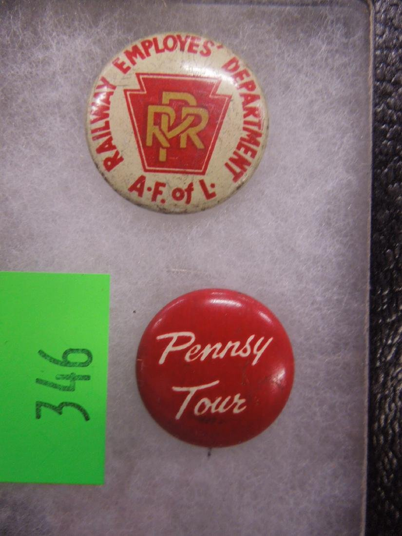 P.R.R. & Other Buttons & Pins - 4