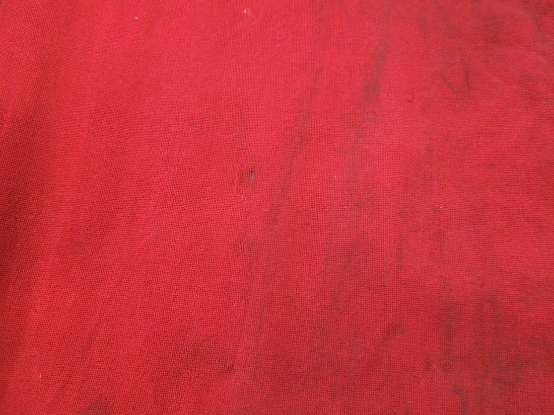 Pr Red Cloth Railroad Signal Flags - 3