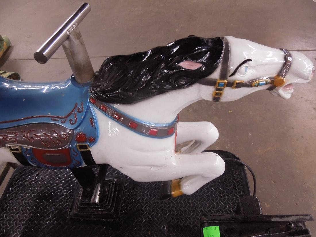 Coin Operated Mechanical Horse Child's Ride - 2