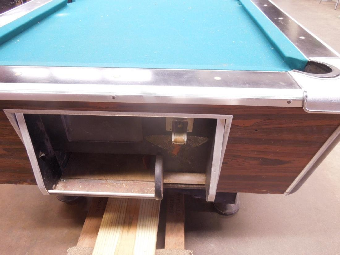 Vintage Coin Operated Pool Table - 4
