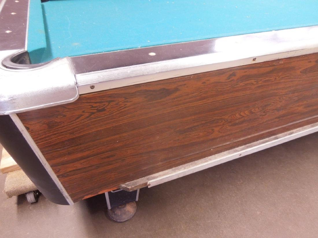 Vintage Coin Operated Pool Table - 6