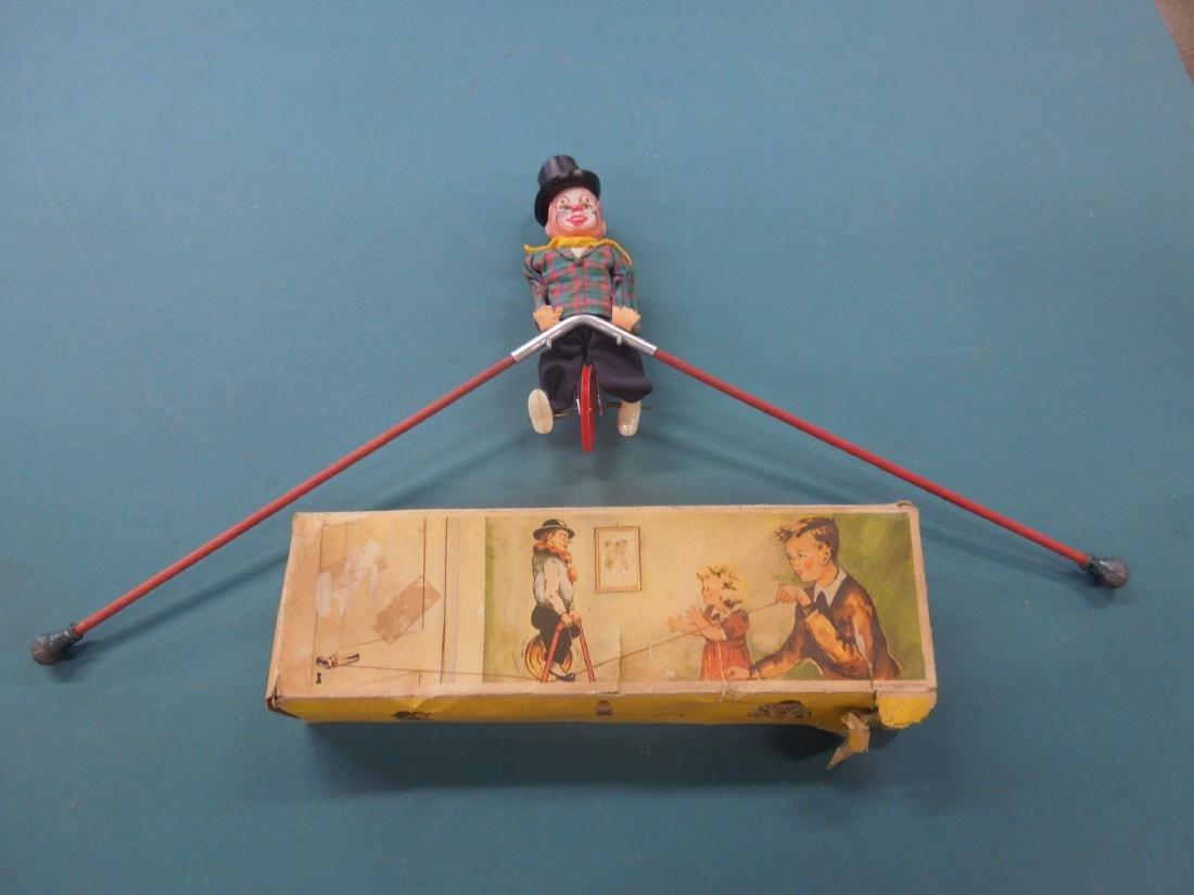 Vintage FEWO Balancing Clown