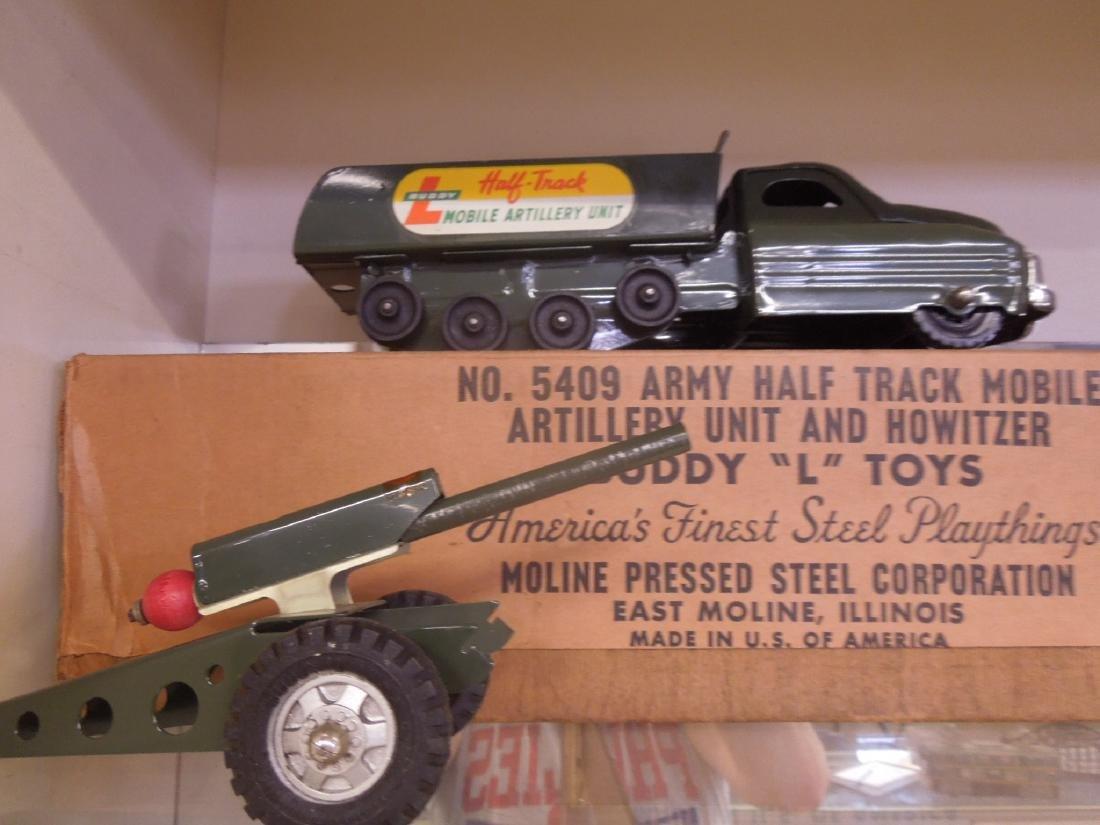 Buddy L. Army Half Track & Gun