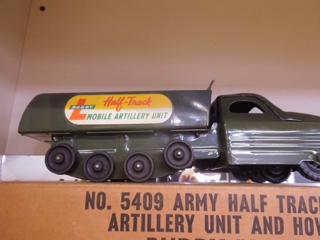 Buddy L. Army Half Track & Gun - 2