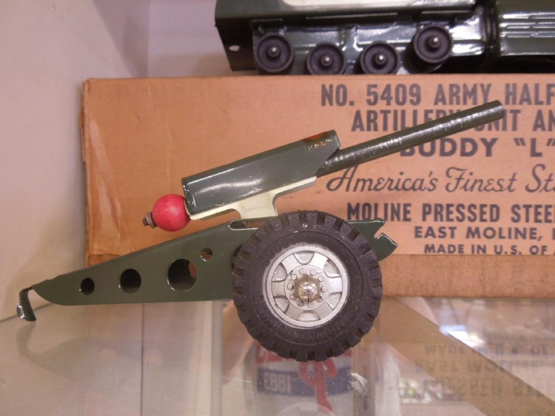 Buddy L. Army Half Track & Gun - 3