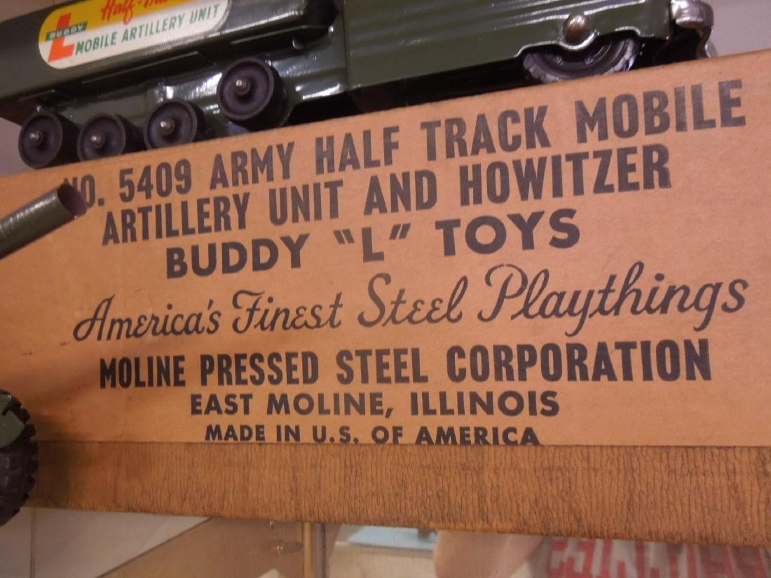 Buddy L. Army Half Track & Gun - 4