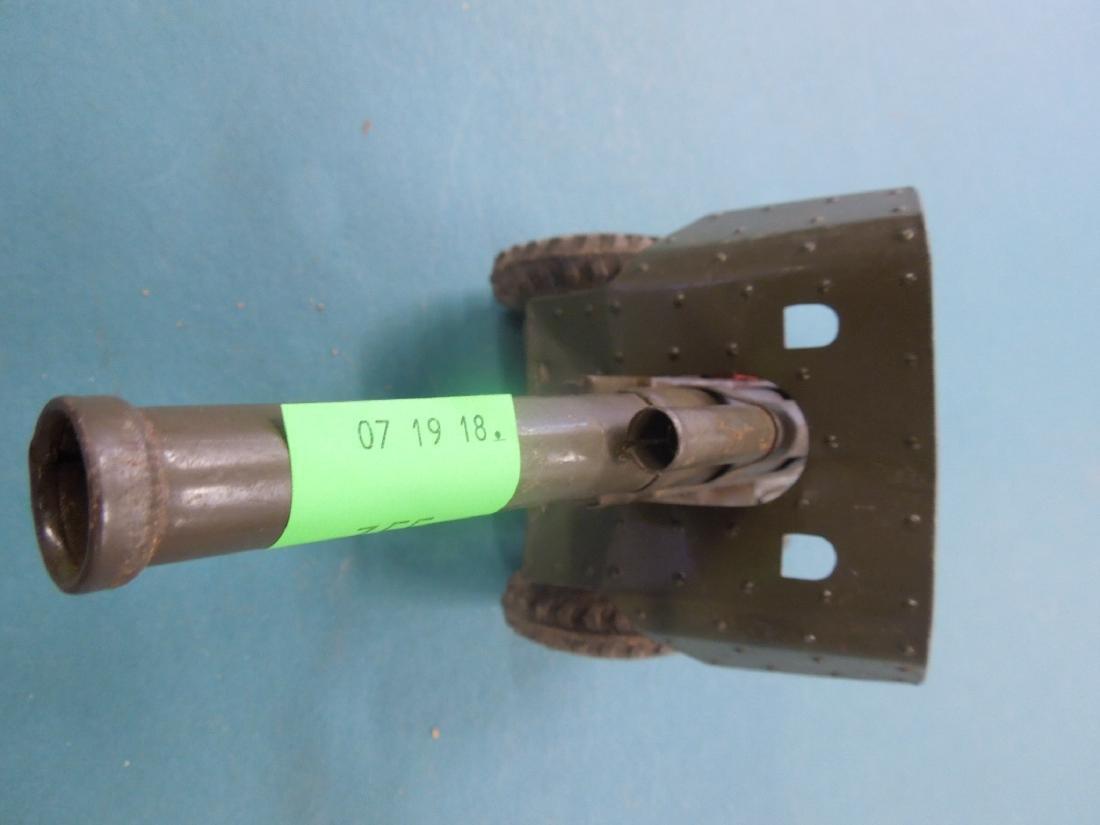 Vintage Tin Artillery Cannon - 3