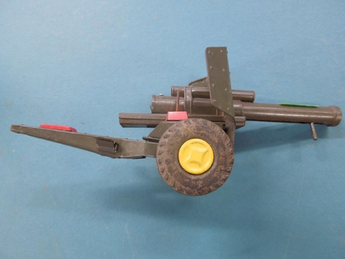 Vintage Tin Artillery Cannon - 4
