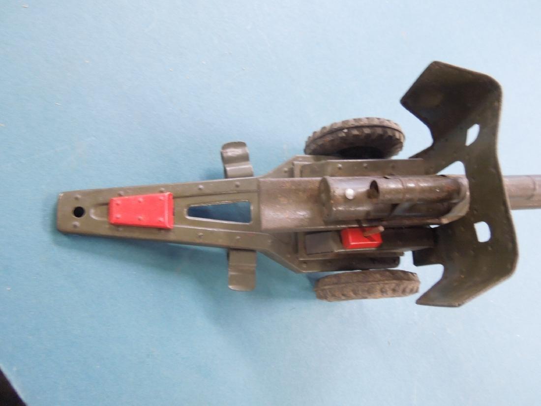 Vintage Tin Artillery Cannon - 5