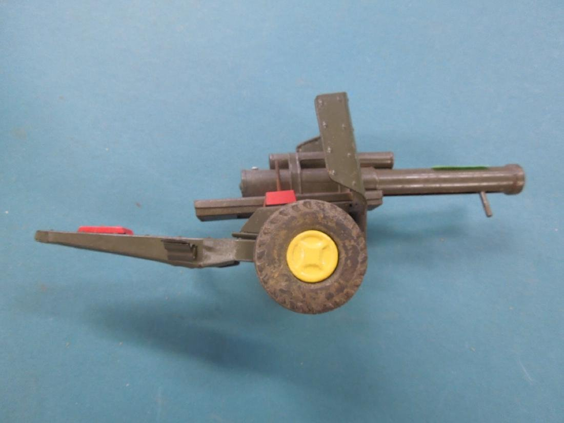Vintage Tin Artillery Cannon - 6