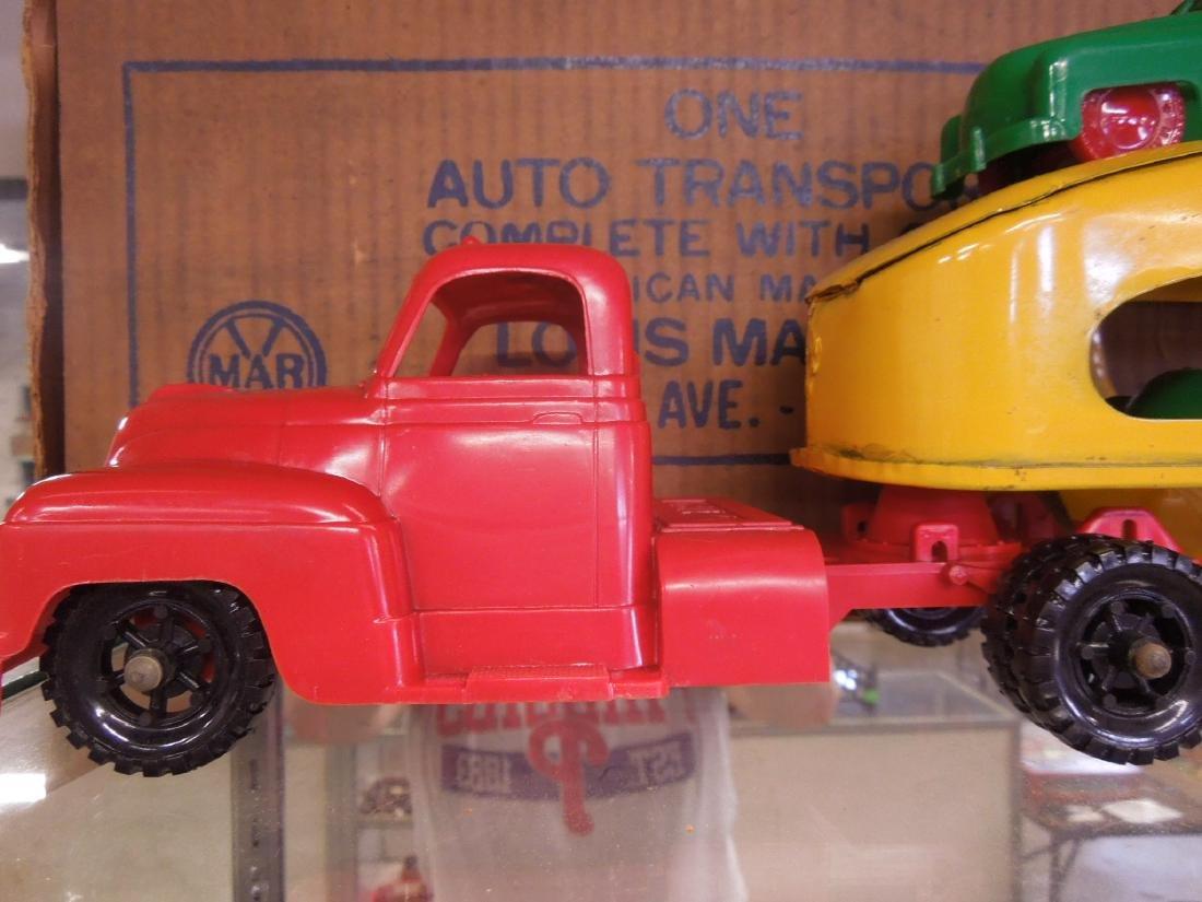 Marx Vintage Auto Transport w/Box - 3