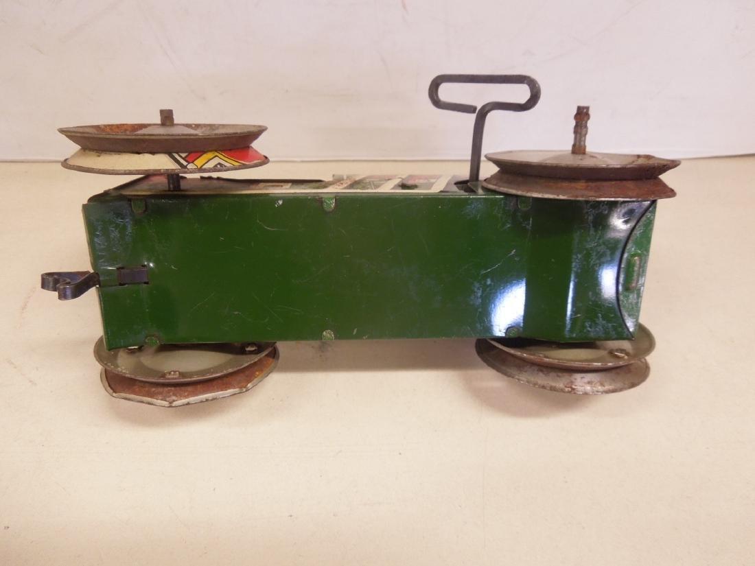 2 Vintage Tin Litho Toy Vehicles - 10