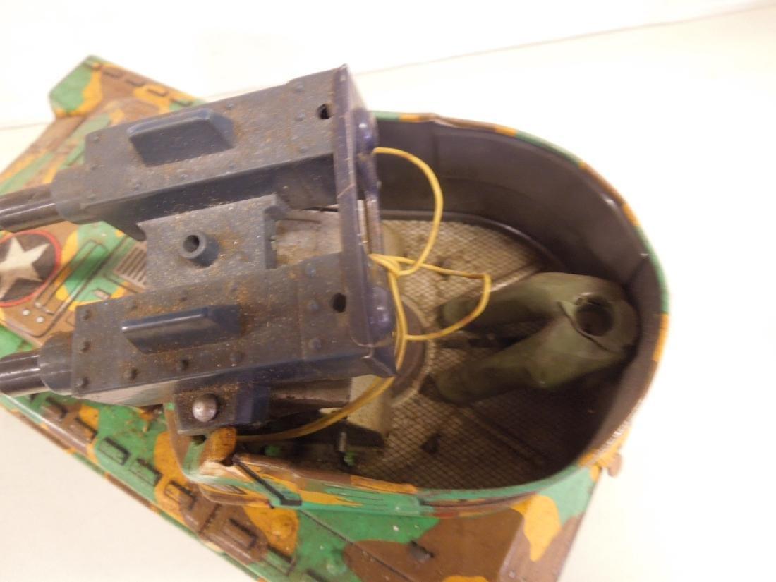 2 Vintage Tin Litho Toy Vehicles - 4