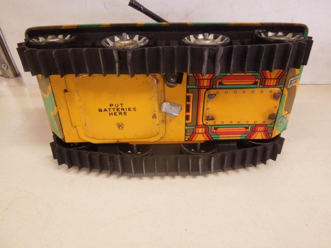 2 Vintage Tin Litho Toy Vehicles - 5