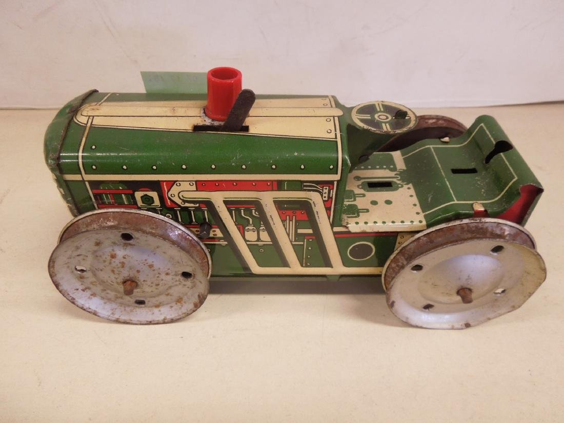 2 Vintage Tin Litho Toy Vehicles - 6
