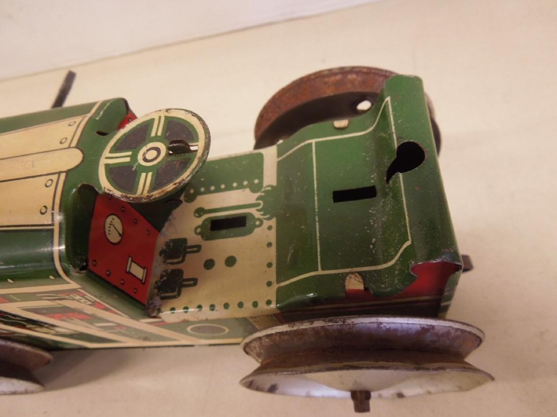 2 Vintage Tin Litho Toy Vehicles - 7