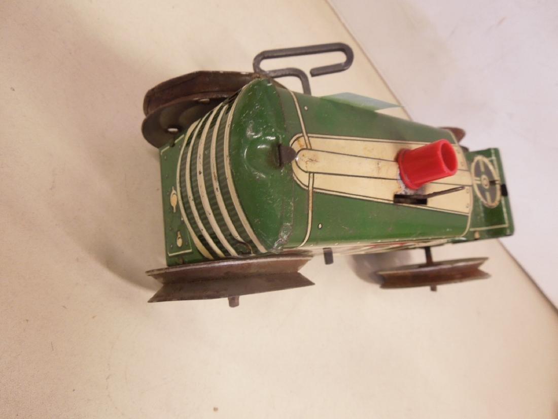 2 Vintage Tin Litho Toy Vehicles - 8
