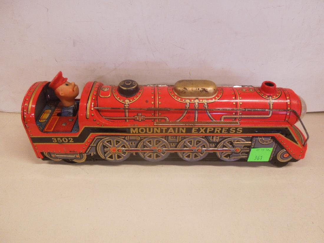 Vintage Battery Operated Locomotive