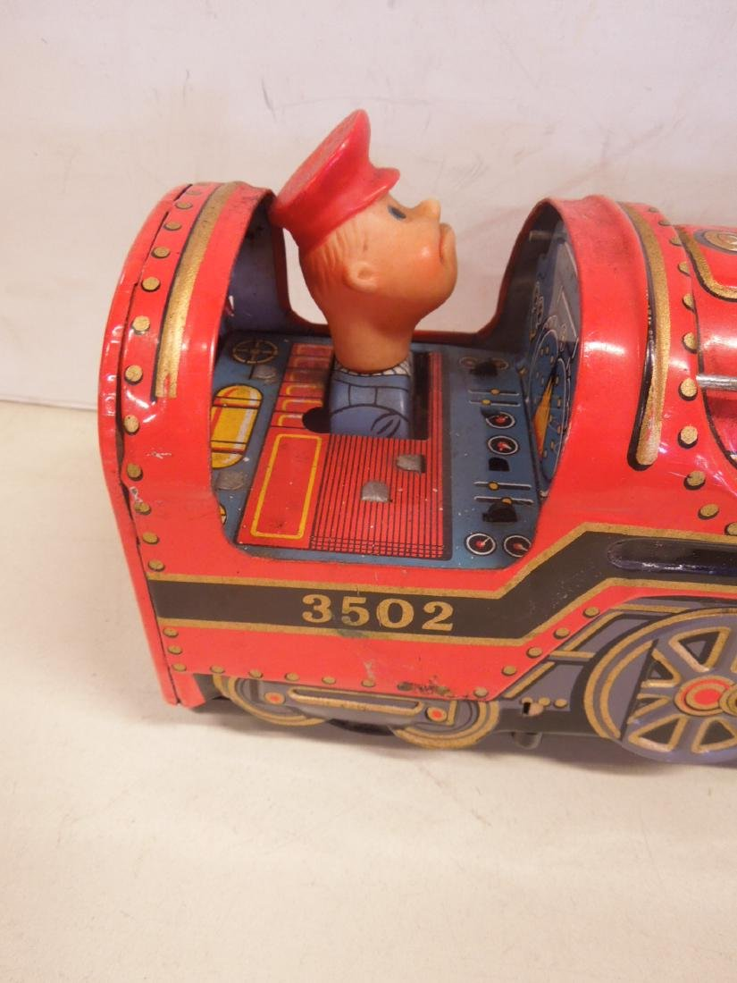 Vintage Battery Operated Locomotive - 2
