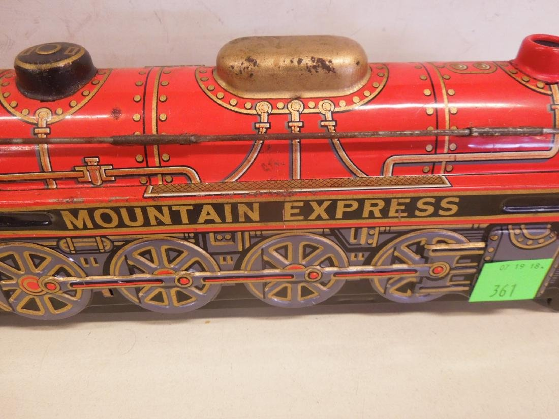 Vintage Battery Operated Locomotive - 3