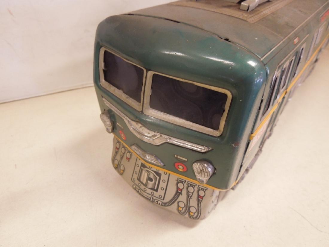 Vintage Tin Litho Battery Operated Locomotive - 3