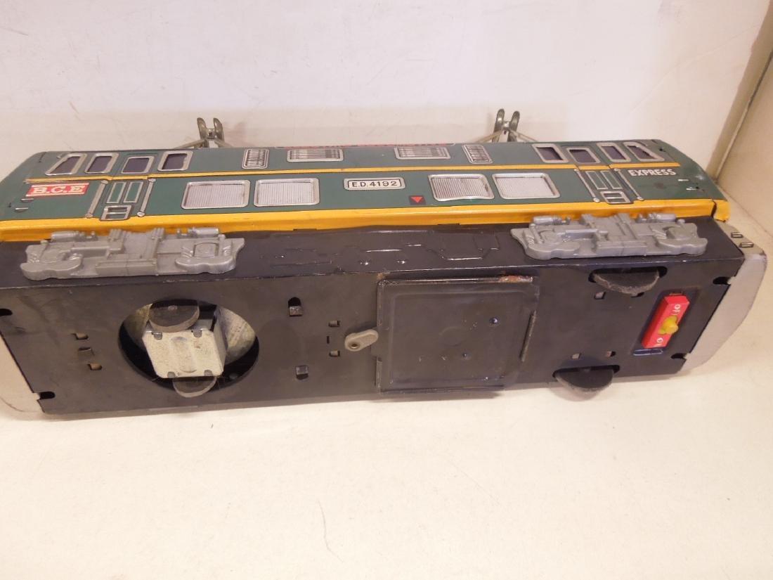 Vintage Tin Litho Battery Operated Locomotive - 4