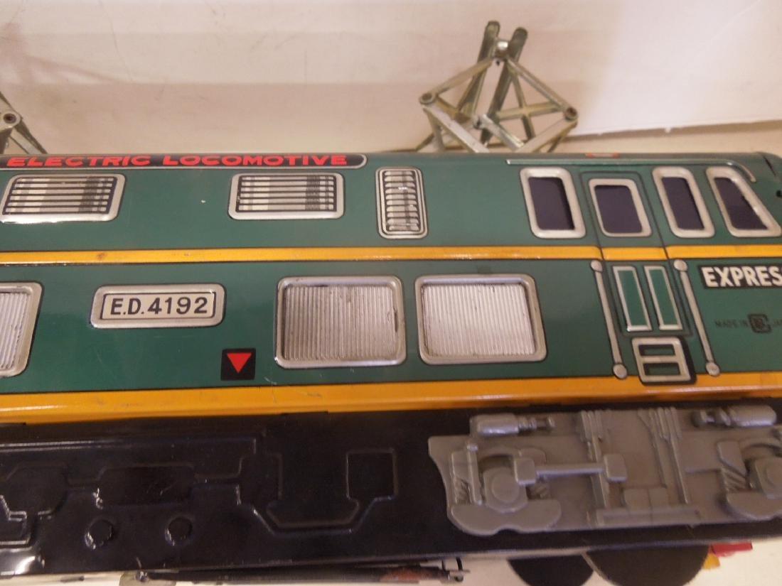 Vintage Tin Litho Battery Operated Locomotive - 5
