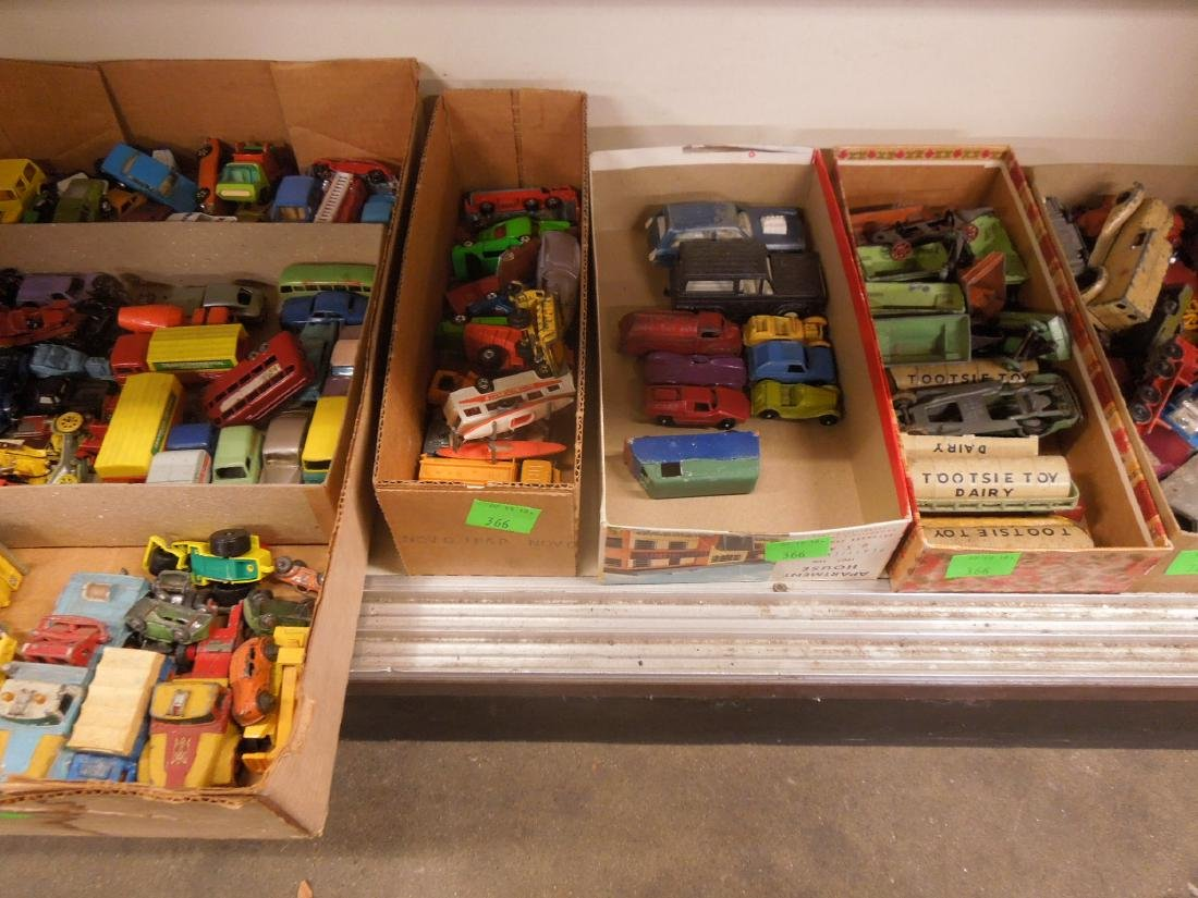 Large Lot Assorted Toy Cars