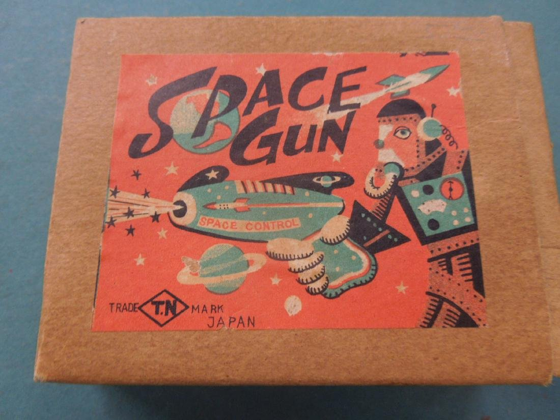 2 Vintage Friction Space Guns - 4
