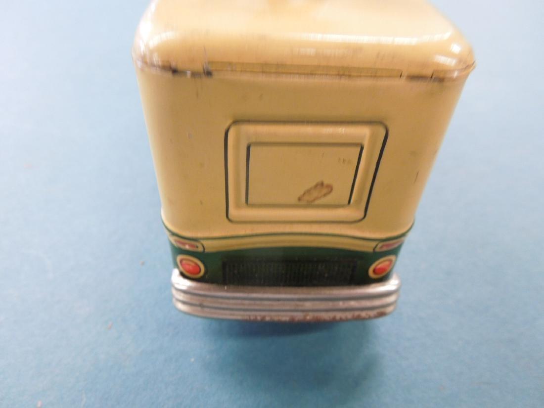 1950s NBC Television Tin Friction Bus - 5