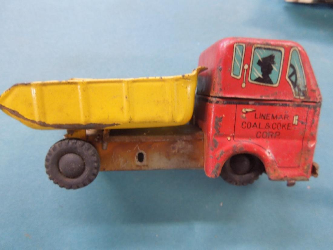 Lot Vintage Tin Litho Vehicles - 5