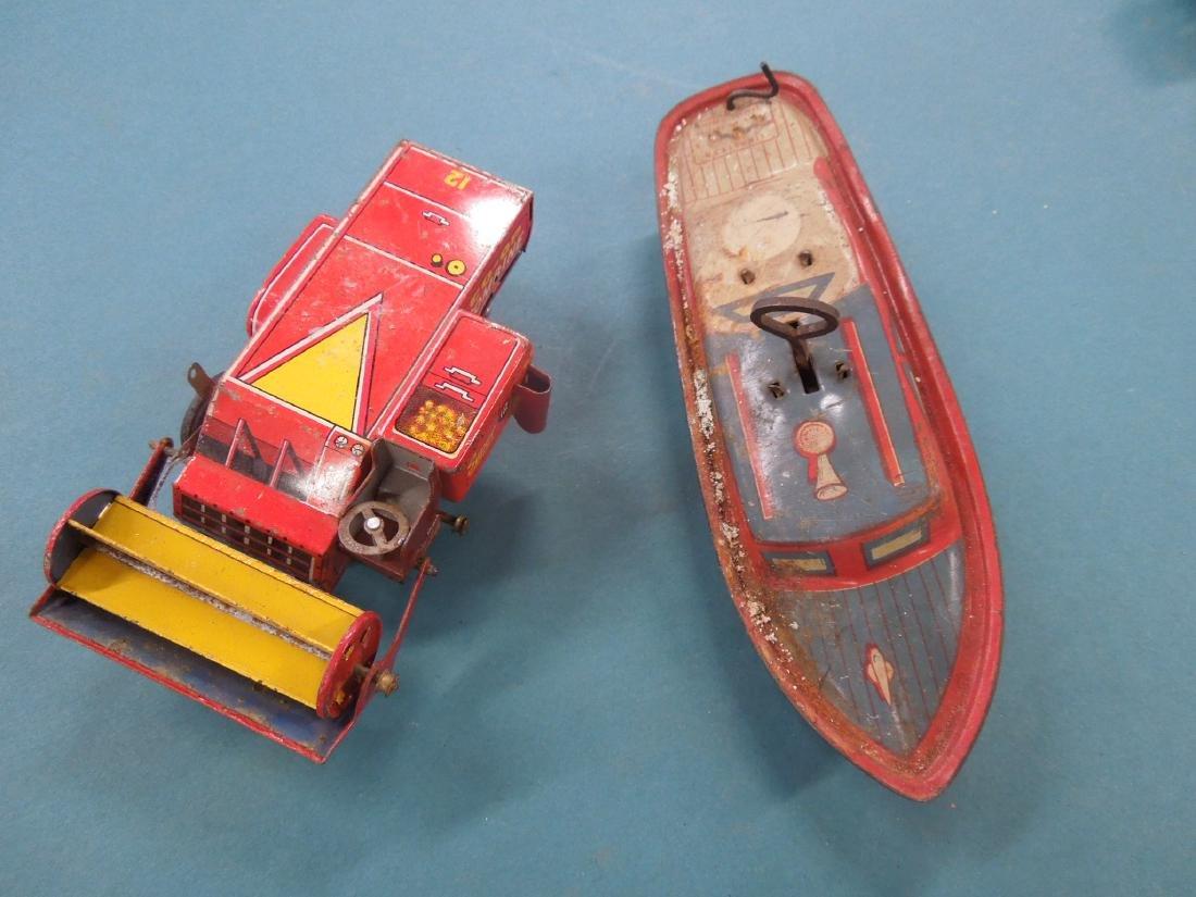 Vintage Tin Friction & Wind-up Toys