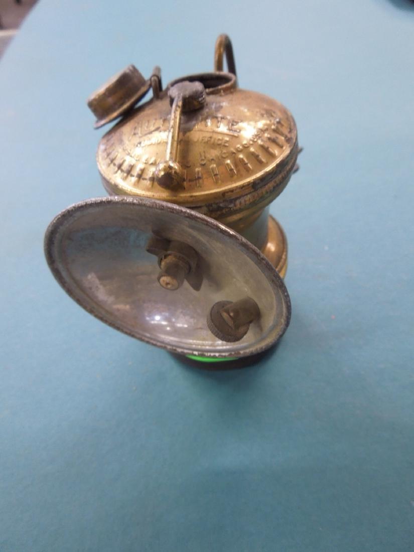 Vintage Auto-Lite Flint Ignited Lamp