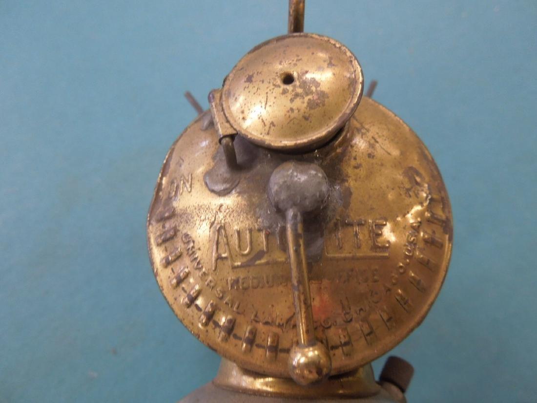 Vintage Auto-Lite Flint Ignited Lamp - 2