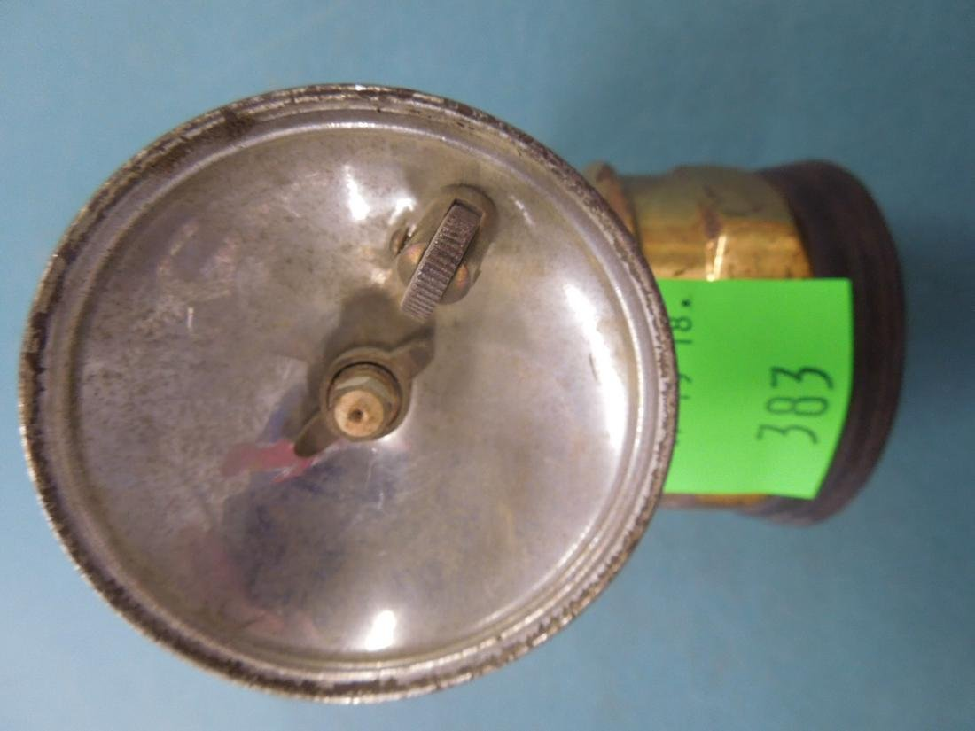 Vintage Auto-Lite Flint Ignited Lamp - 5