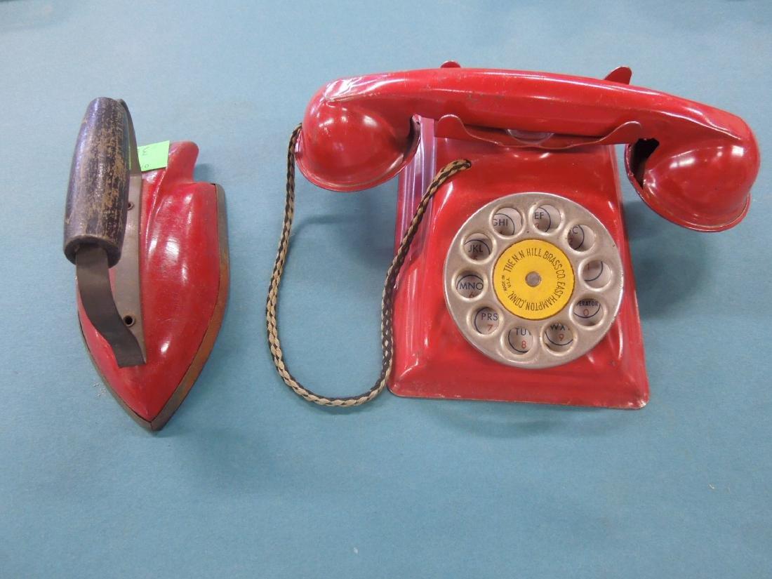 2 Vintage Tin Toys