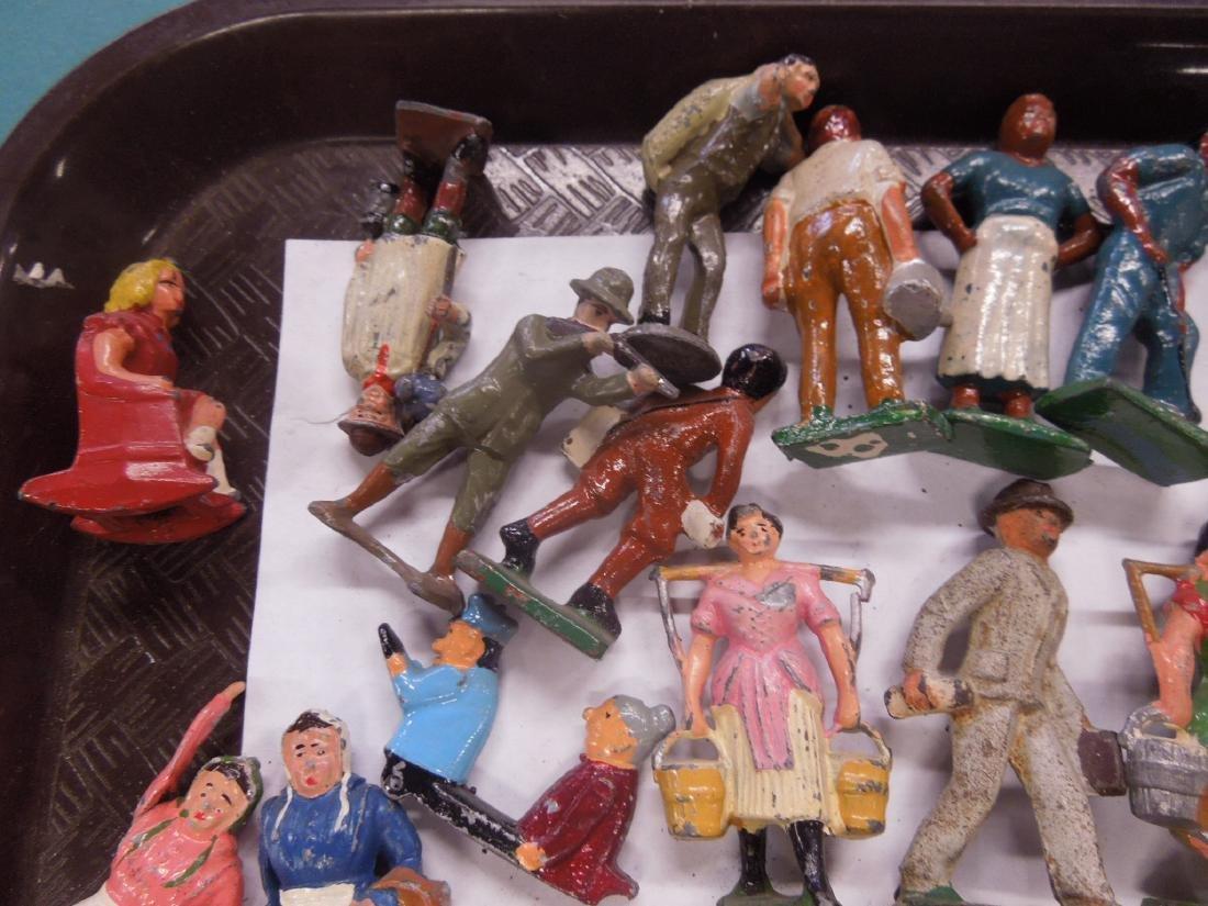 Large Lot Vintage Metal Figures - 2