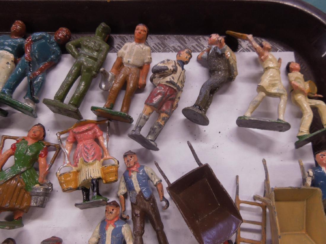 Large Lot Vintage Metal Figures - 3