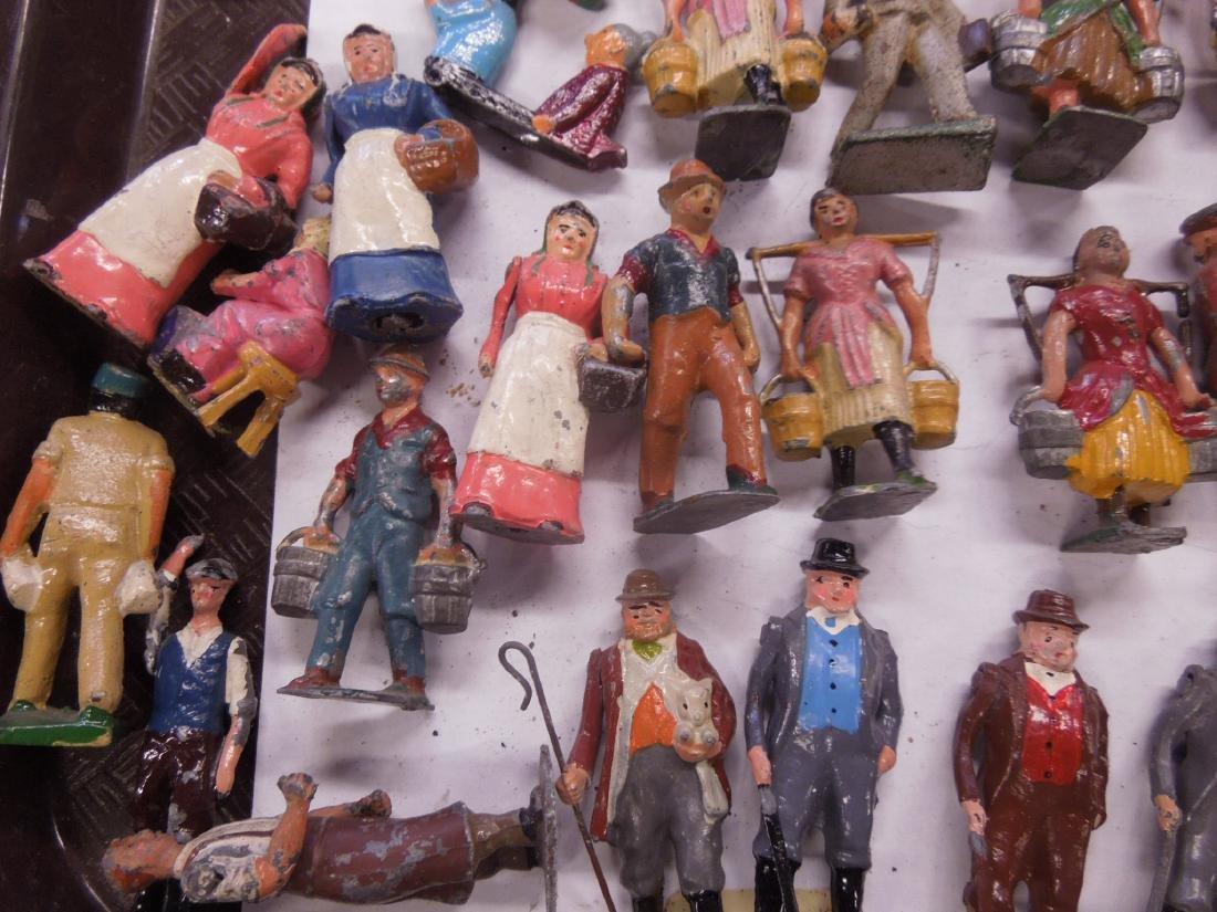 Large Lot Vintage Metal Figures - 4