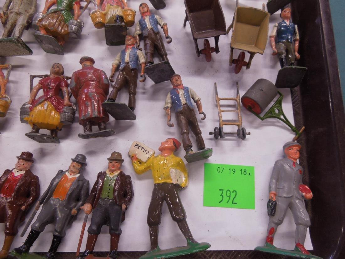 Large Lot Vintage Metal Figures - 5