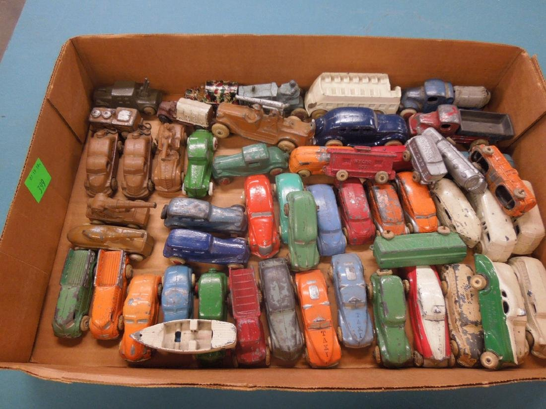 Large Lot of Metal Toy Vehicles