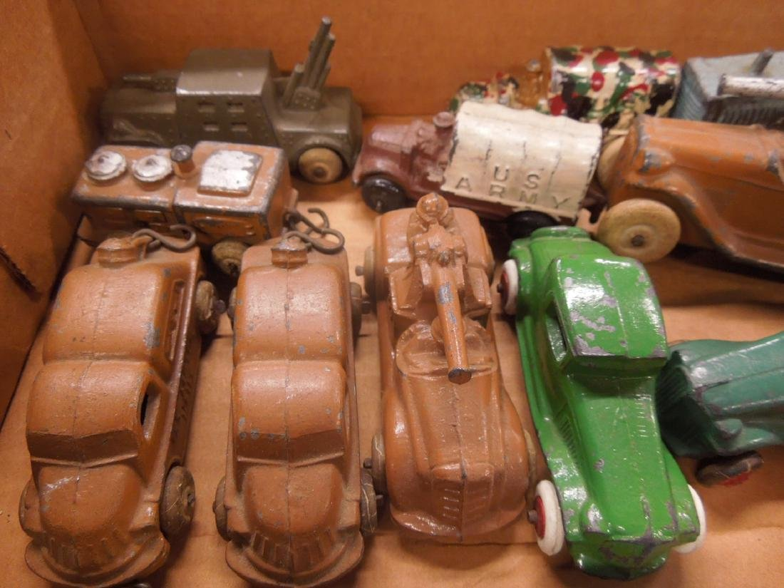Large Lot of Metal Toy Vehicles - 2